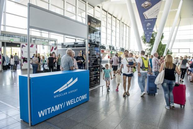 Wrocławskie lotnisko w 2017 r. obsłużyło rekordową liczbę pasażerów