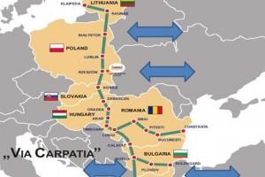 """""""Kraje UE deklarują wsparcie dla projektu Via Carpatia"""""""