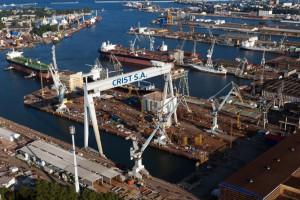 W stoczni Crist powstaje największy prom hybrydowy świata