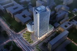 Golub GetHouse wybuduje wieżowiec Liberty Tower w Warszawie