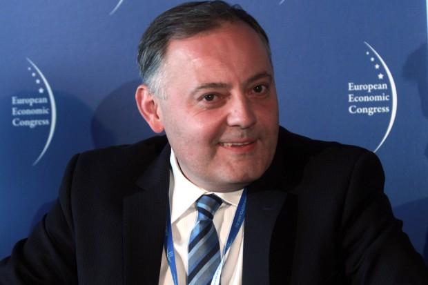 Wojciech Dąbrowski, prezes zarządu PGE Energia Ciepła. Fot. PTWP