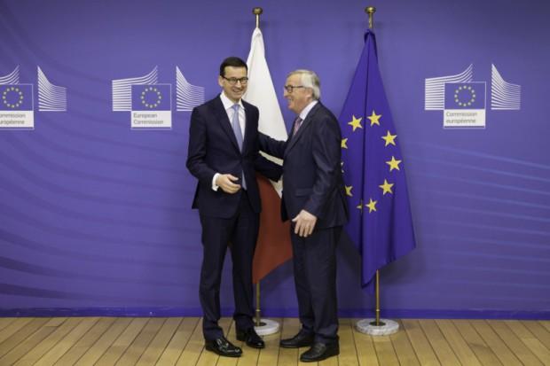 Morawiecki z Junckerem m.in. o klimacie, energii, budżecie UE i Brexicie