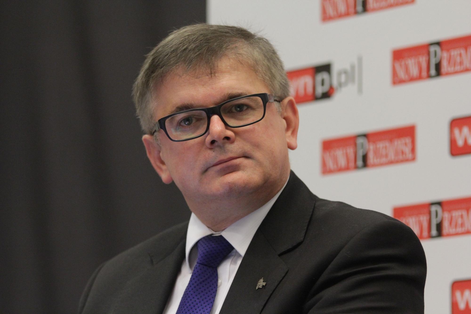 Senator Adam Gawęda zaznacza, że w górnictwie szczególnie istotna będzie realizacja zaplanowanych inwestycji (fot Michał Oleksy/PTWP)