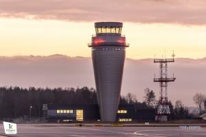 Budimex: gotowa wieża kontroli lotów na lotnisku Katowice