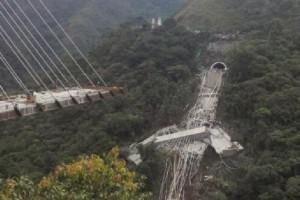 Katastrofa budowlana mostu w Kolumbii. Są ofiary śmiertelne