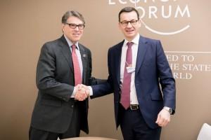 Premier Morawiecki rozmawiał o gazie z amerykańskim ministrem
