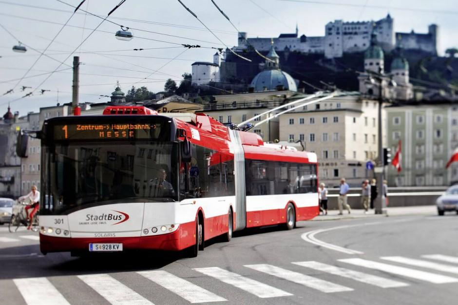 Trolejbus Solaris Trollino. fot. mat. pras.