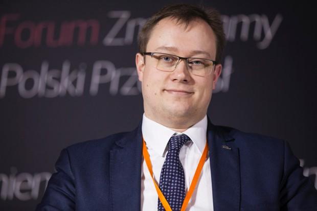 Dawid Klimczak, prezes Enea Trading. Fot. PTWP