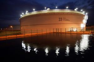 Dwa olbrzymie zbiorniki na ropę to dopiero wstęp do przyszłych inwestycji