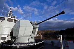 Marynarka wojenna Finlandii ma nowe armaty morskie
