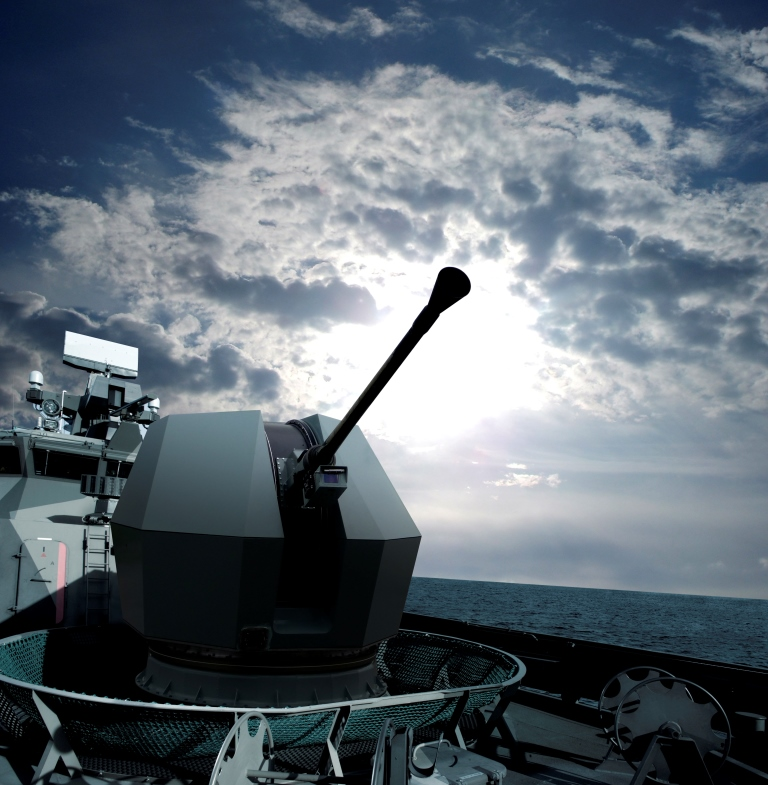 Rakieta 40Mk4-2 Fot. mat. prasowe BAE.Systems