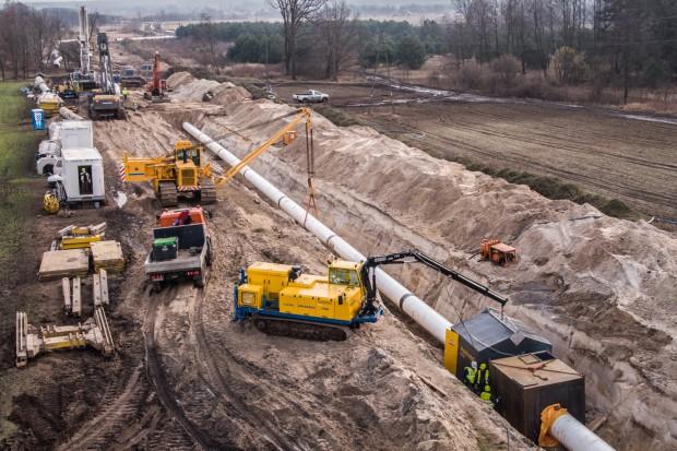 Mostostal Kraków rozpoczyna spawanie gazociągów przesyłowych
