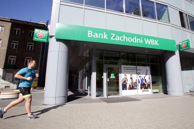 Rosną dochody i zysk Grupy Kapitałowej BZ WBK, ale sam bank wypada gorzej