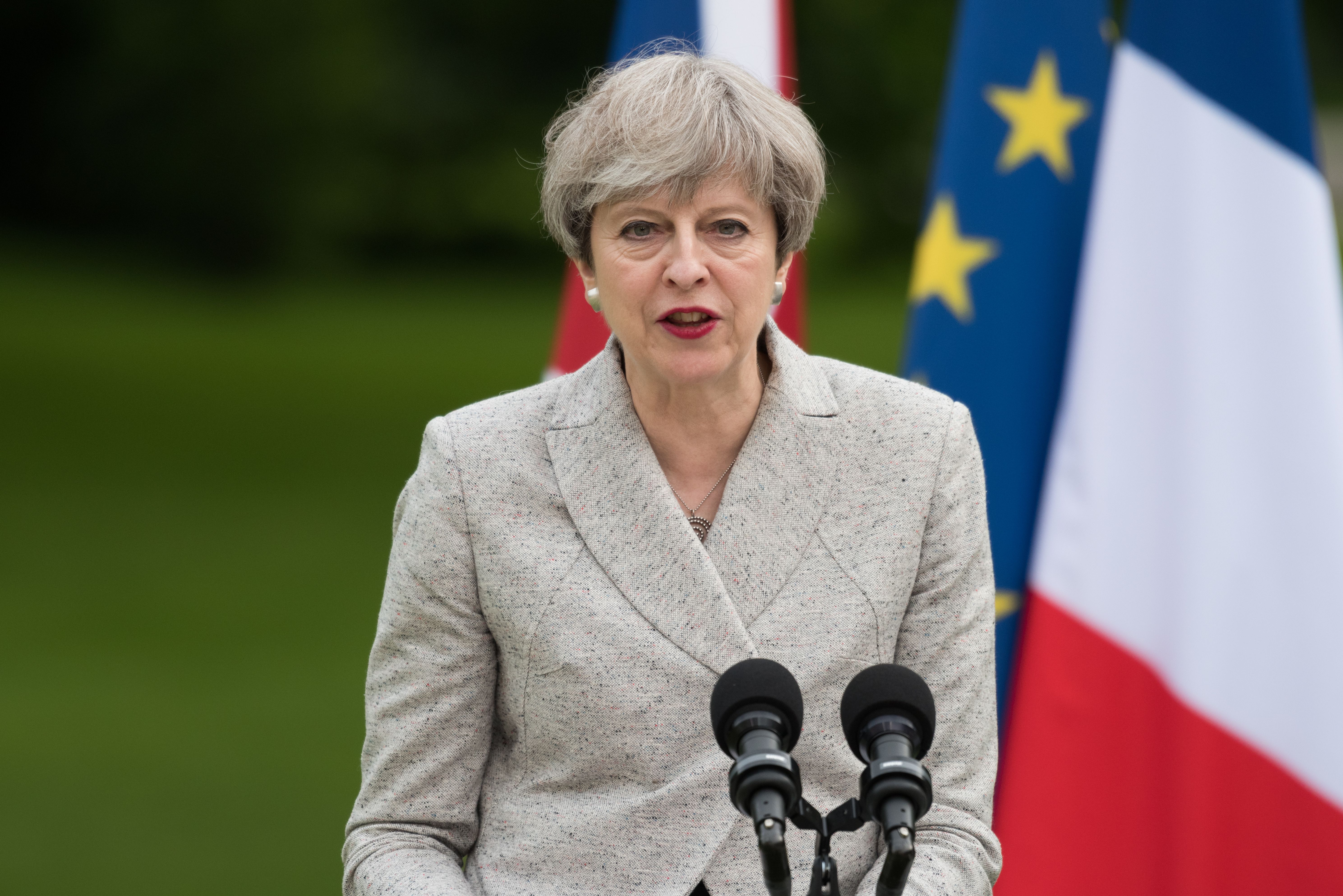 Theresa May, fot. Frederic Legrand/Shutterstock