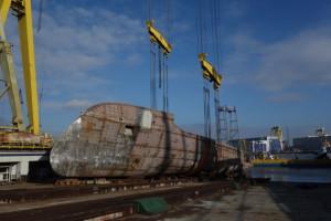 W szczecińskiej stoczni zwodowano luksusowy jacht motorowy