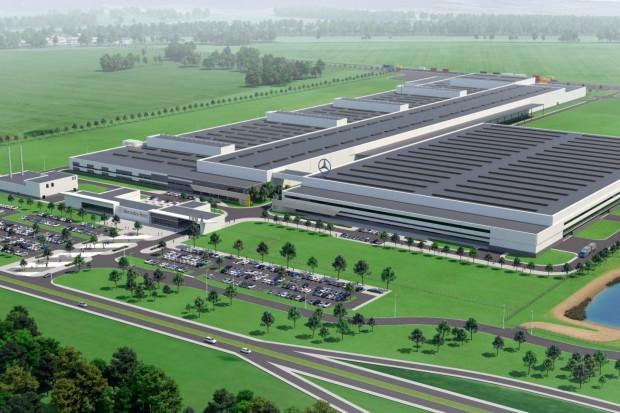 Konsorcjum Strabaga wybuduje polską fabrykę Mercedesa