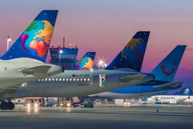 Przed COP24 nowe stanowiska postojowe samolotów w Katowice Airport
