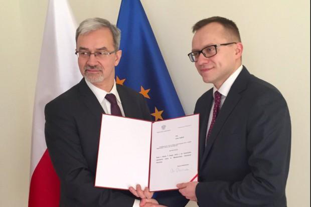 Artur Soboń wiceministrem inwestycji i rozwoju odpowiedzialnym za budownictwo