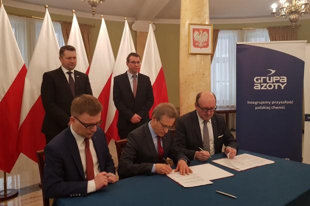 Grupa Azoty intensyfikuje współpracę z Instytutem Nowych Syntez Chemicznych