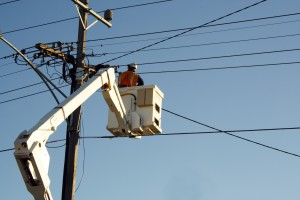 Pogoda pozbawiła prądu kilka tysięcy gospodarstw domowych