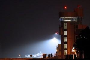 Tak prezentuje się wieża w Porcie Lotniczym Wrocławiu (Fot. airport.wroclaw.pl)