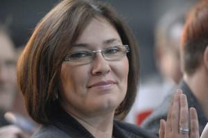 """Beata Mazurek z PiS o wypowiedzi Schetyny ws. Ciechu: """"na złodzieju czapka gore"""""""