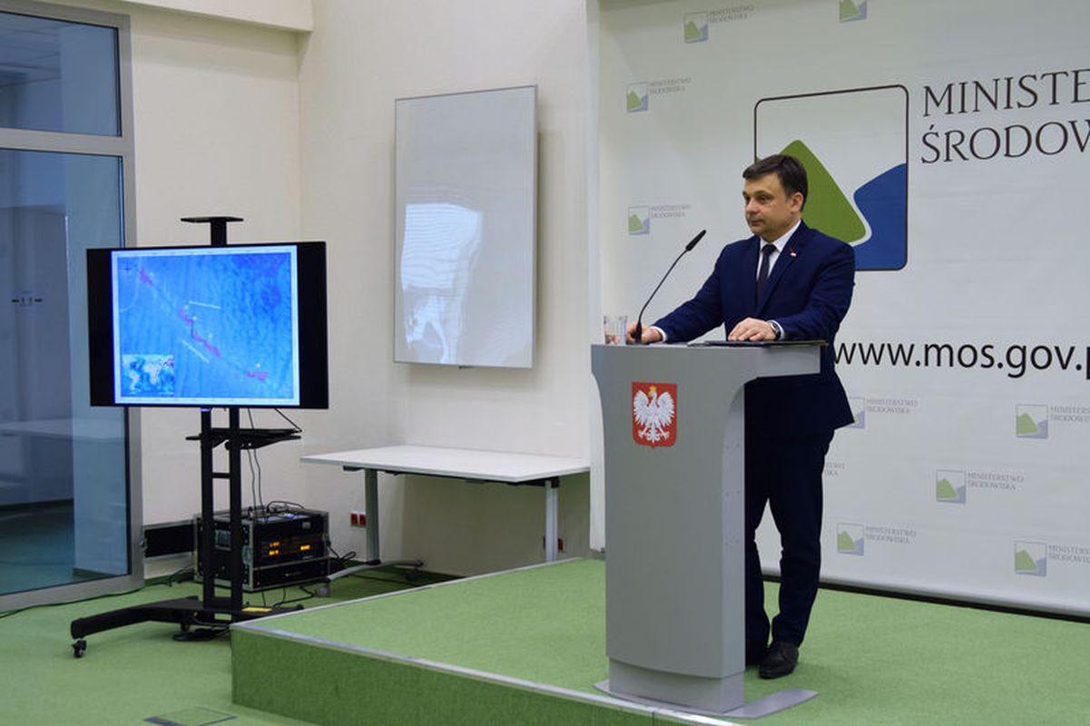 Mariusz Orion Jędrysek Fot. Ministerstwo Środowiska