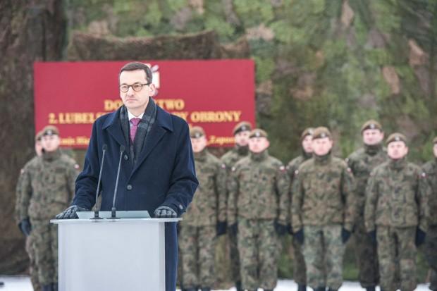 Mateusz Morawiecki chce wzmocnić potencjał Polski zbrojeniami