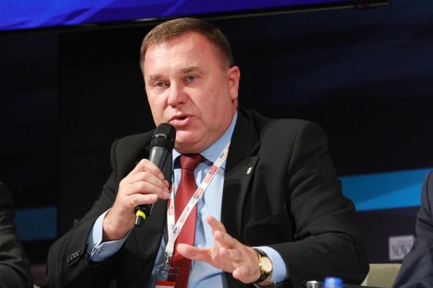 Zygmunt Łukaszczyk wskazuje, że gaz wysypiskowy budzi coraz większe zainteresowanie. Fot. PTWP