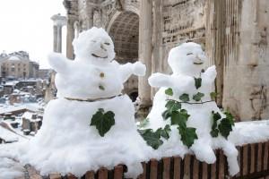 Śnieg sparaliżował ruch w europejskiej stolicy