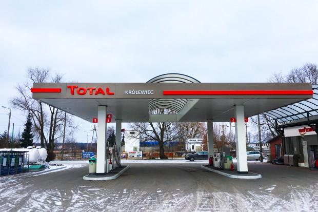 Total uruchomił stację w Królewcu