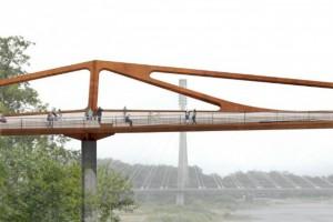 Warszawa buduje niecodzienny most