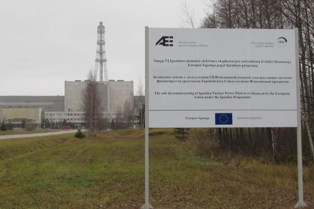Litwa rozbraja nieczynną elektrownię atomową w Ignalinie