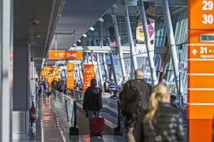 Świetny początek roku lotniska na Okęciu