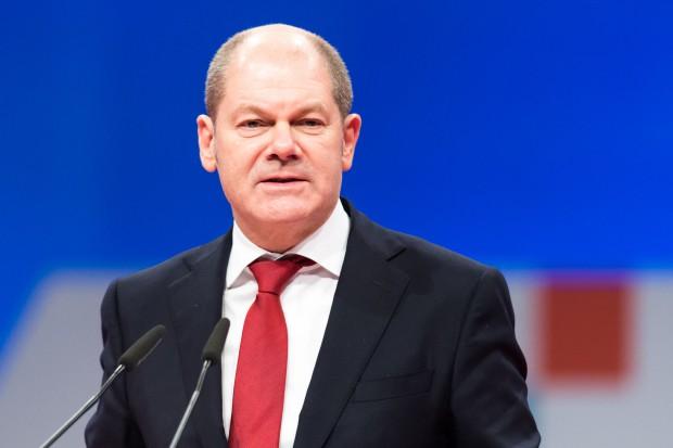 Olaf Scholz z SPD zostanie wicekanclerzem i ministrem finansów