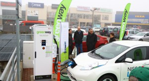 GreenWay z pierwszą ładowarką o mocy 150 kW