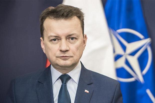 Mariusz Błaszczak: Polska jest jednym z liderów NATO