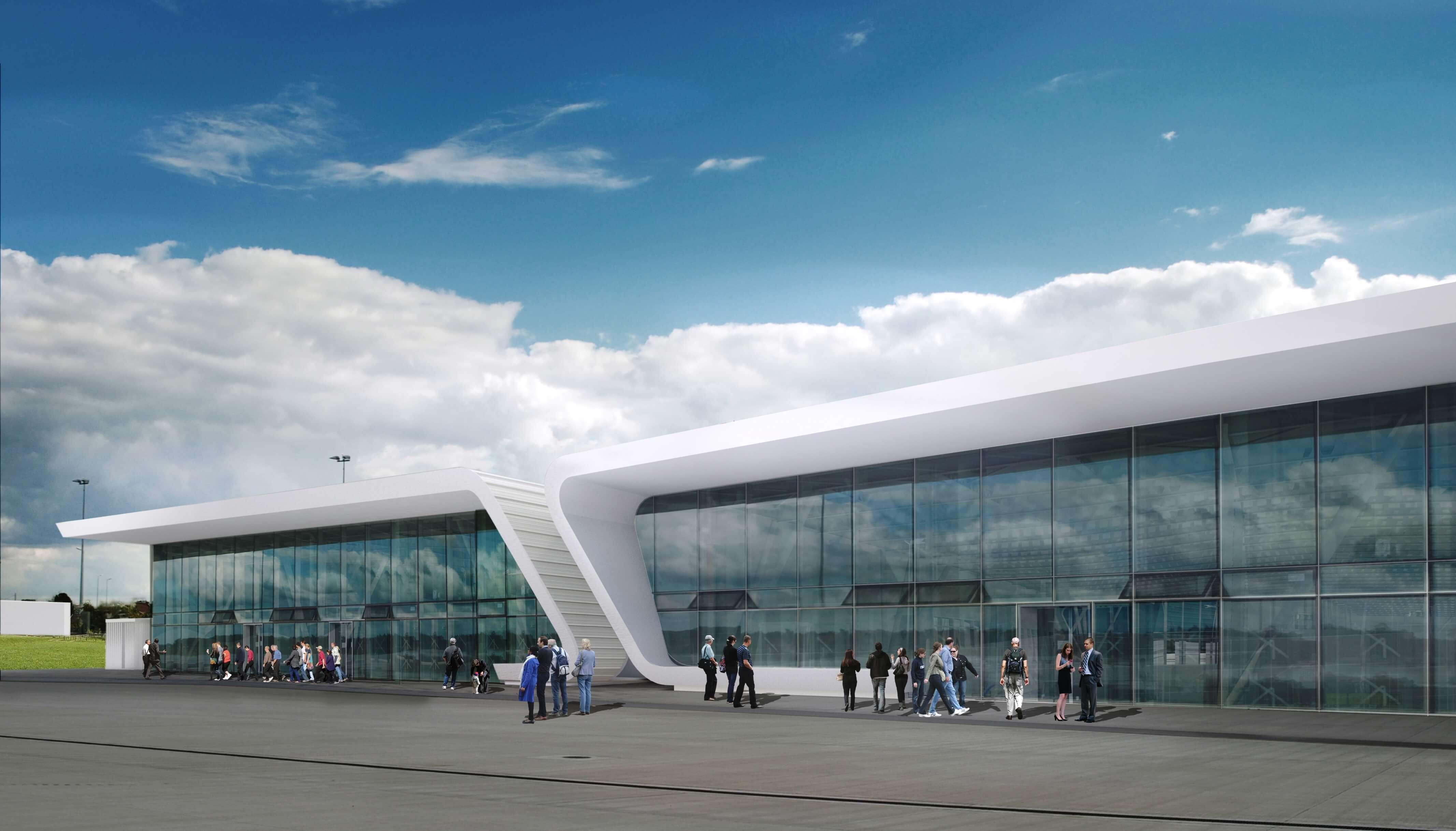 Wizualizacja terminalu po rozbudowie (fot. mat. pras.)