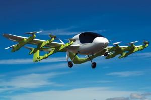 Firma wspierana przez założyciela Google pokazała latająca taksówkę na prąd