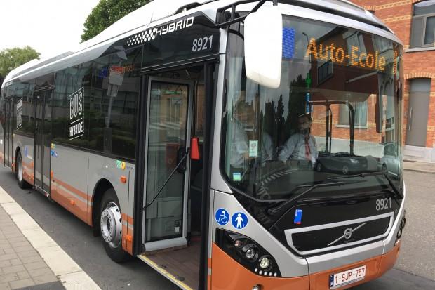 Hybrydowe autobusy Volvo pojadą do Brukseli