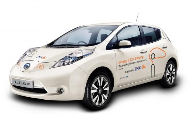 Wynajem samochodów elektrycznych z nową aplikacją od innogy