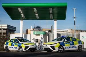 Londyńska policja stawia na radiowozy na wodór. Chce wspomóc miasto w walce ze smogiem
