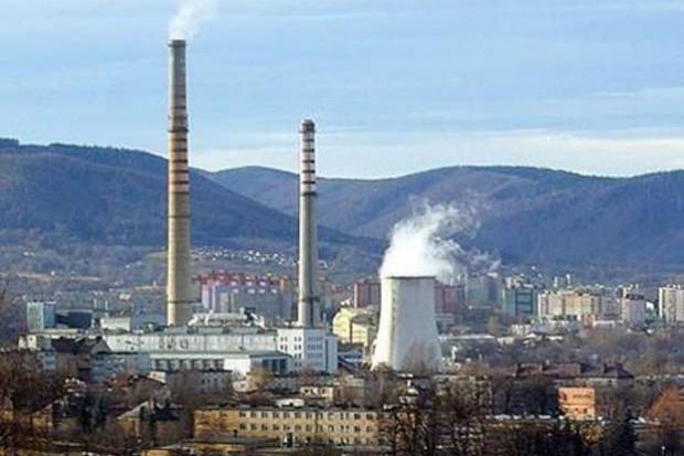 Tauron rozbiera kominy w Bielsku-Białej