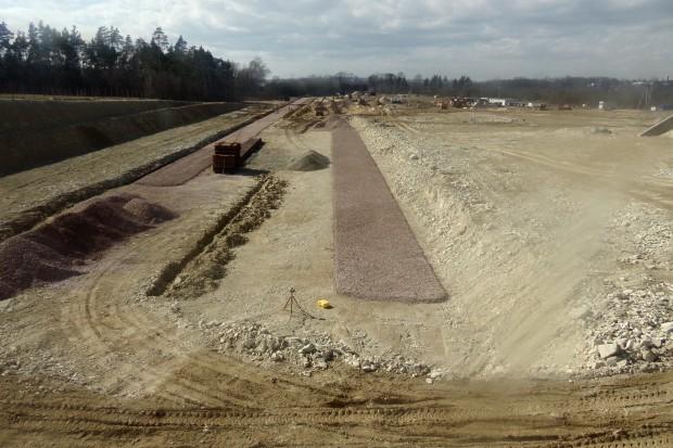 Budowa terminalu LPG Gaspolu w Sędziszowie na półmetku