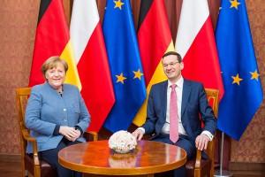 Mateusz Morawiecki ma moc? Rząd liczy na Angelę Merkel ws. Nord Stream 2