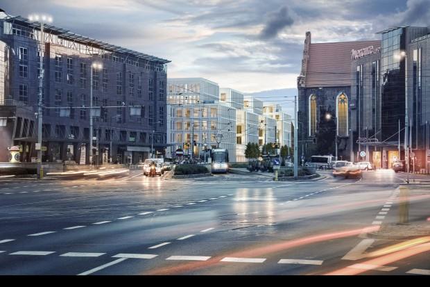 Skanska buduje Nowy Targ we Wrocławiu
