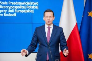 Mateusz Morawiecki ostrzega przed szantażem. Grozi nam duże niebezpieczeństwo
