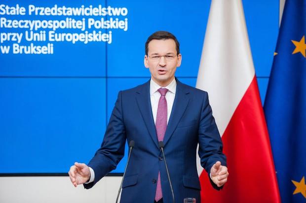 Mateusz Morawiecki: chcemy przyspieszyć z drogą ekspresową S74