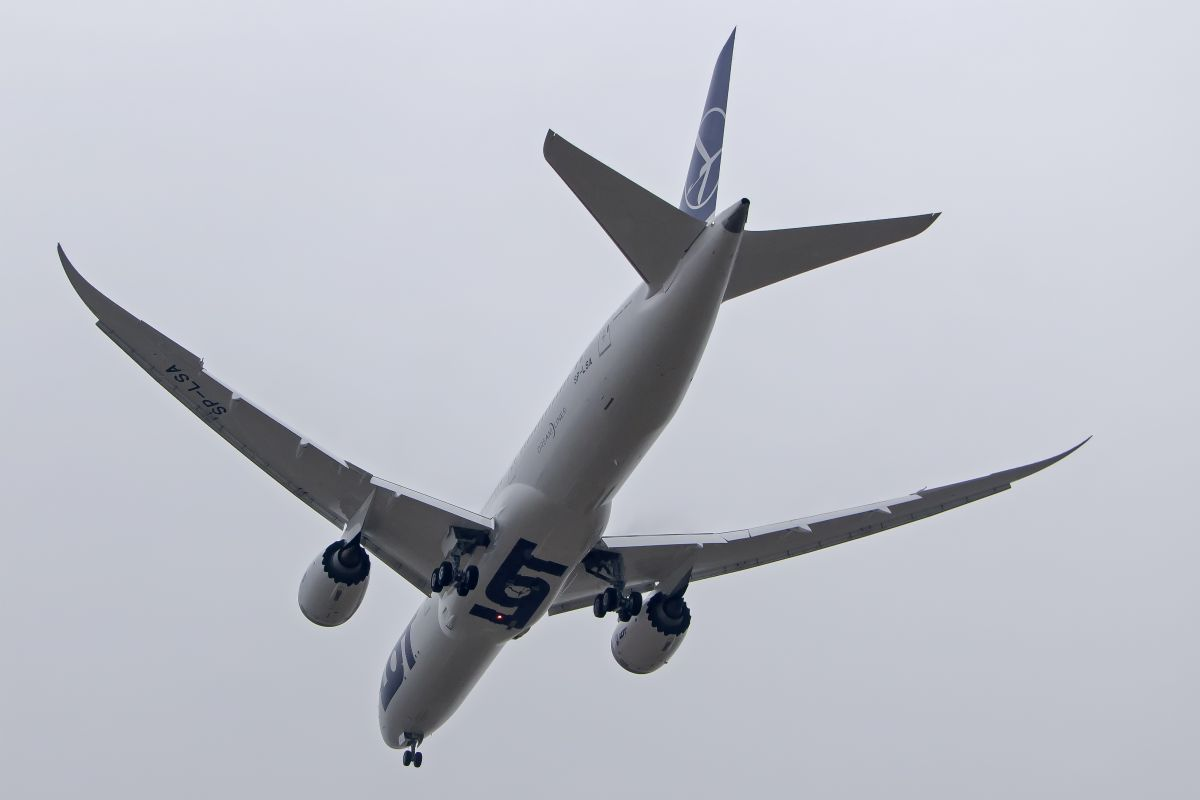 Samolot Boeing 787-9 (fot. LOT, mat. pras.)