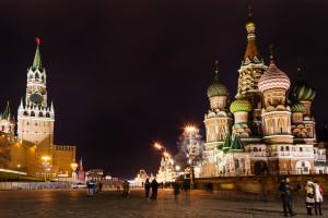 Kreml wygaszony w Godzinie dla Ziemi